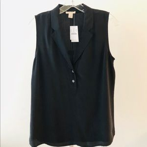 J. Crew - 100% Silk Sleeveless Blouse